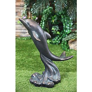 Large Dolphin Statue*   Outdoor Living   Outdoor Decor   Lawn Ornaments U0026  Statues