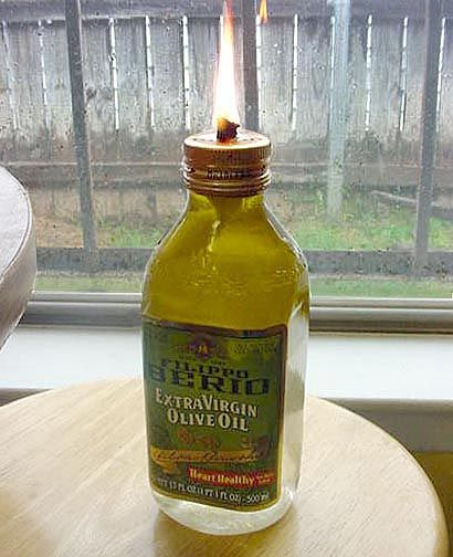 Make Your Own Olive Oil Lamp Oil Lamps Oil Lantern Oil Candles