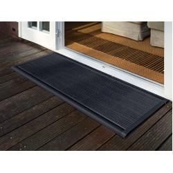 Outdoor doormat New Standard Rizz gray, designer Trudie Zuiddam / well design, 2 …