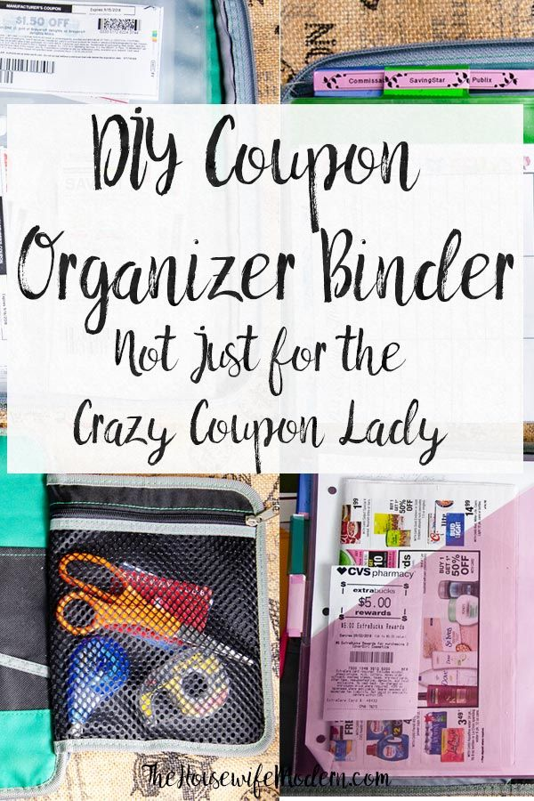 How to Make a Coupon Organizer Binder: Couponing Like a Normal Person
