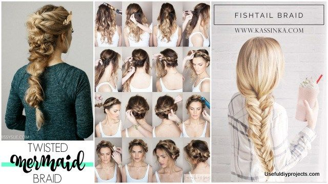 Magnificent Try New Hairstyles 23 Braid Tutorials For A Brand New Look On Natural Hairstyles Runnerswayorg
