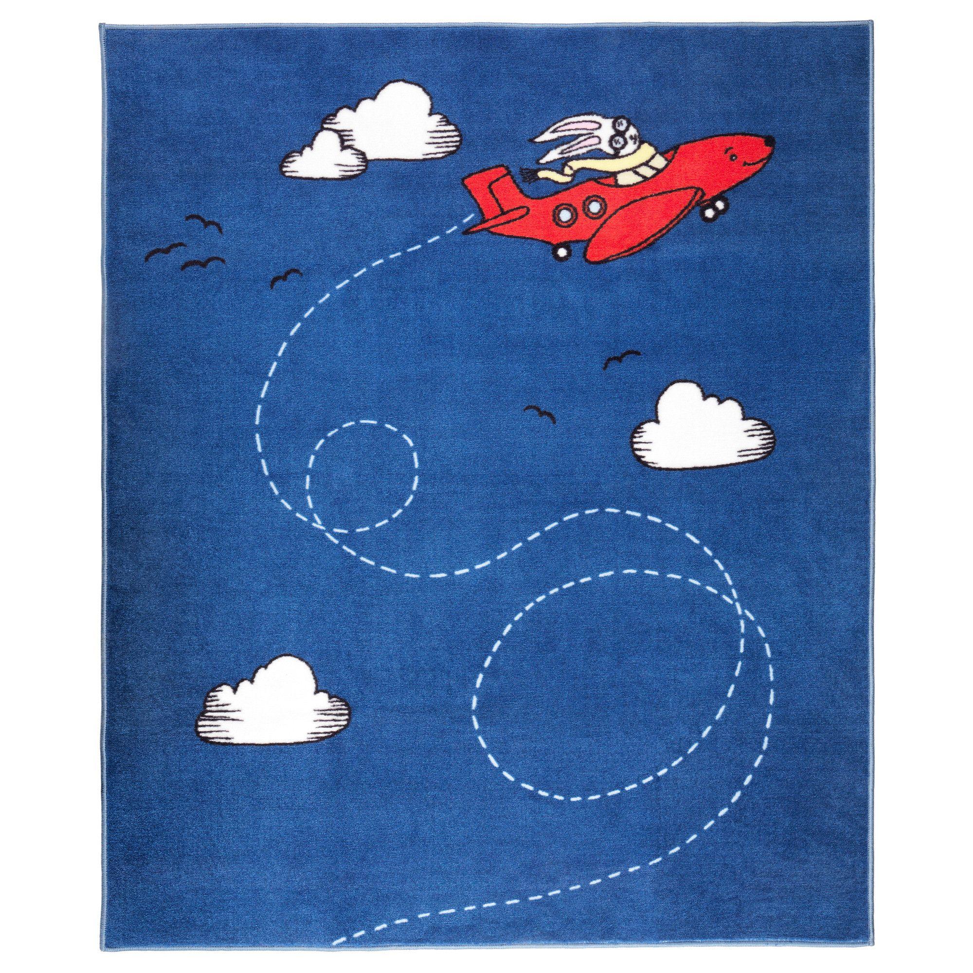Flygtur tapis poils ras ikea enfants pinterest - Ikea tapis chambre ...