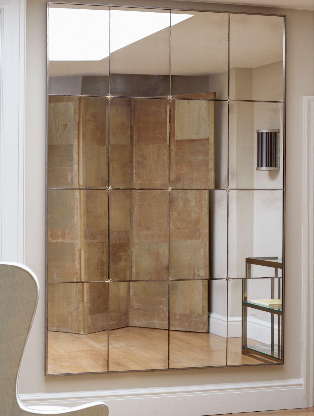 panelled mirror