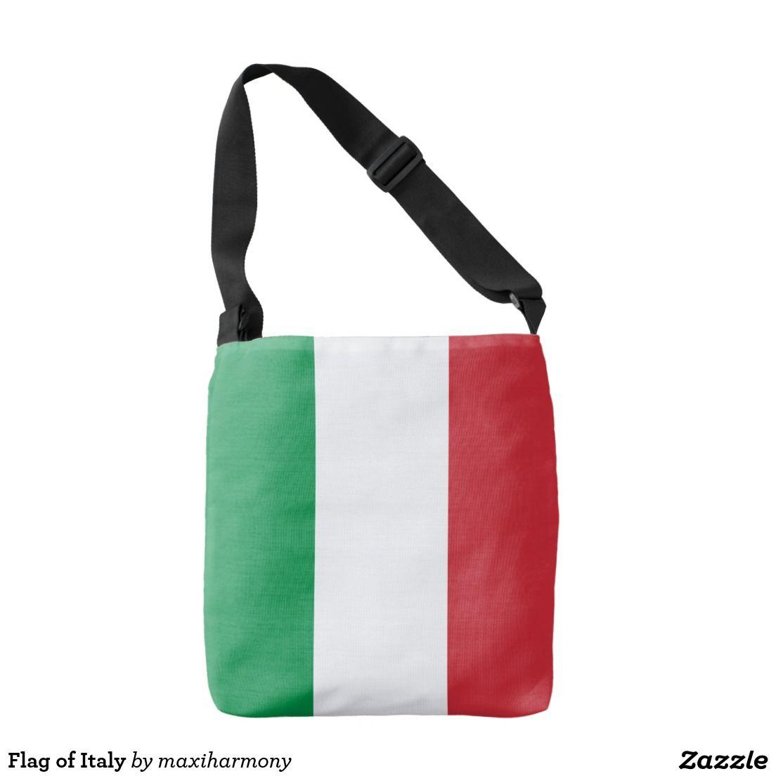 a1583c1a93 Flag of Italy Crossbody Bag