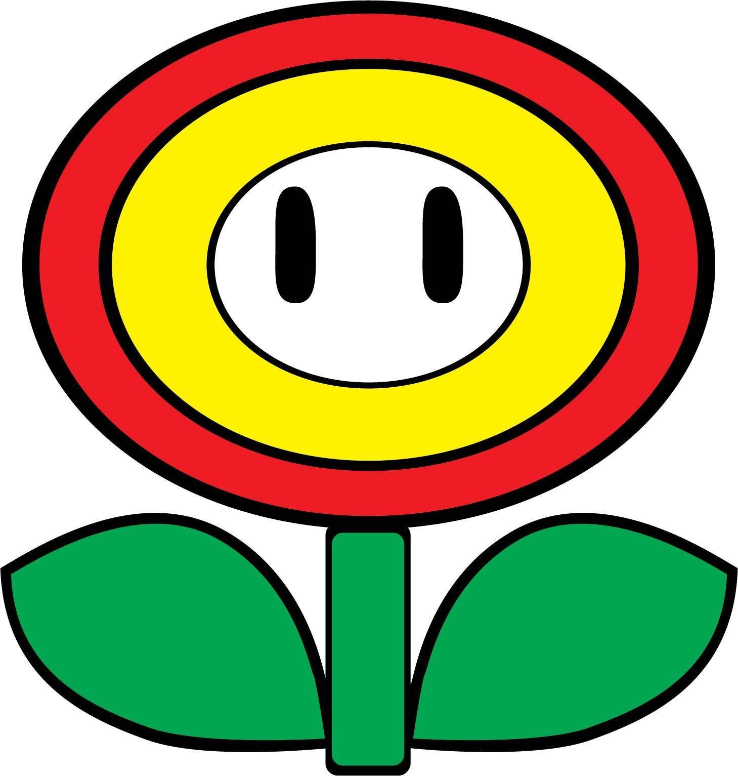 Fire Flower SVG Mario Bros. Etsy in 2020 Mario bros