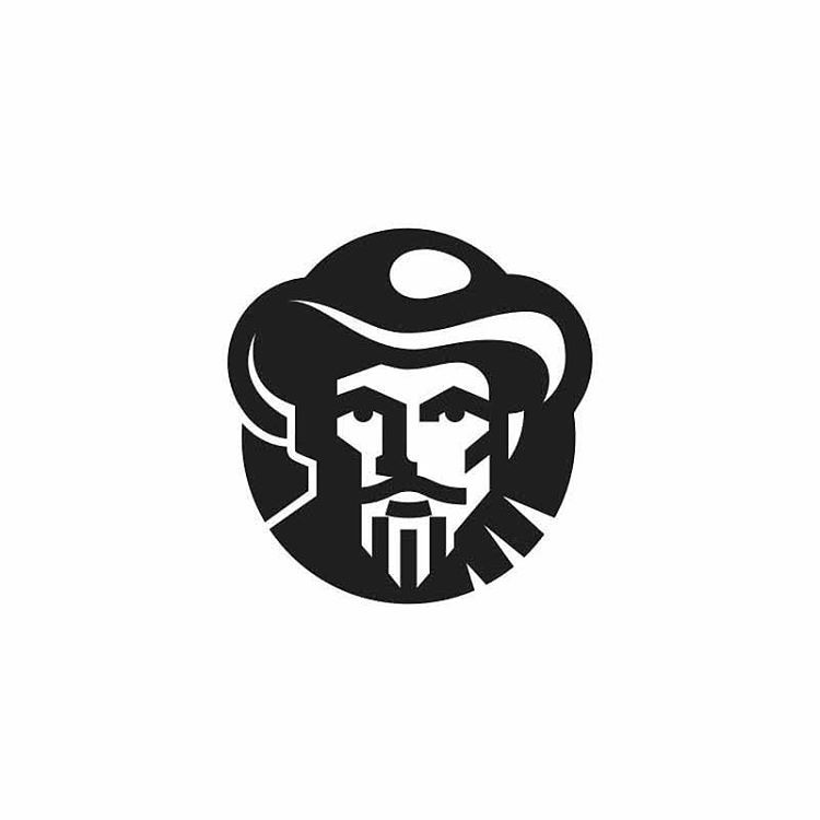 Farmer by George Bokhua @george_bokhua - LEARN LOGO DESIGN  @learnlogodesign @learnlogodesign - Want to be featured next? Follow us and tag #logoinspirations in your post