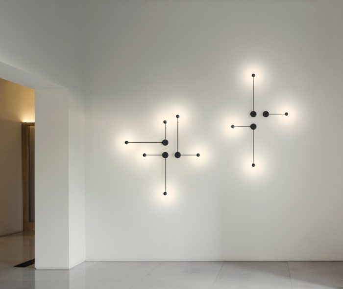 Pin Lamp Collection Continuity And Comfort Through This Lighting Collection Contemporary Wall Lights Modern Wall Lights Lamp Design