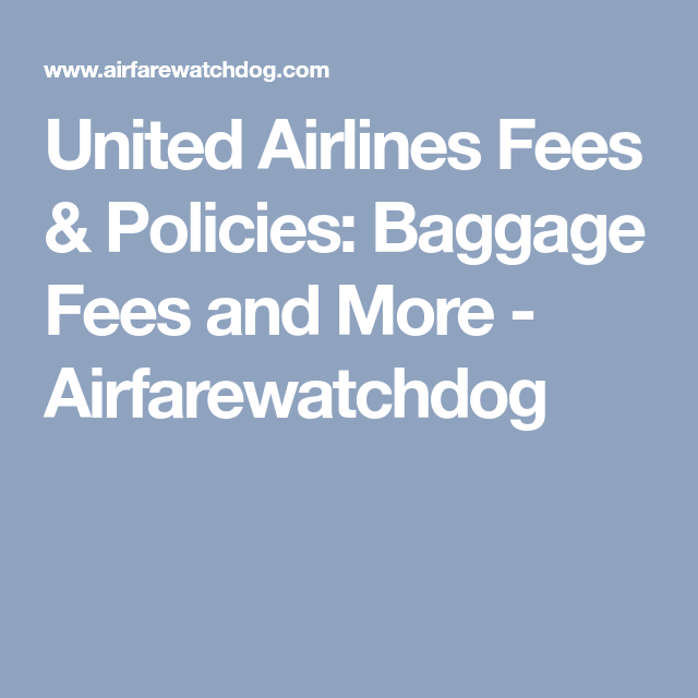 United Airlines Fees Policies Baggage Fees And More Airfarewatchdog The Unit United Airlines Airlines,Floor Plan Commercial Kitchen Design Guidelines