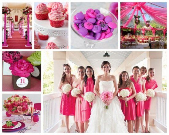the best color themes for spring and summer weddings