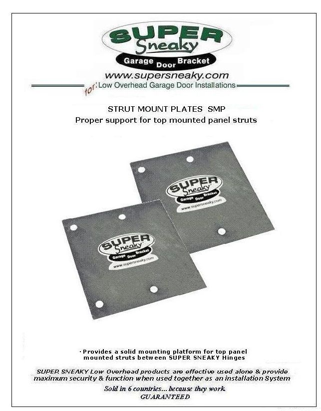 Strut Mounting Plate Door Brackets