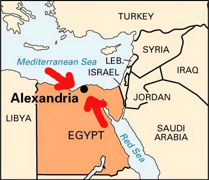 Where We All Cry About the Library of Alexandria Egypt