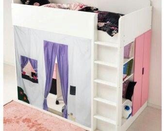 stuva lift bed hack kinderzimmer pinterest kinderzimmer. Black Bedroom Furniture Sets. Home Design Ideas