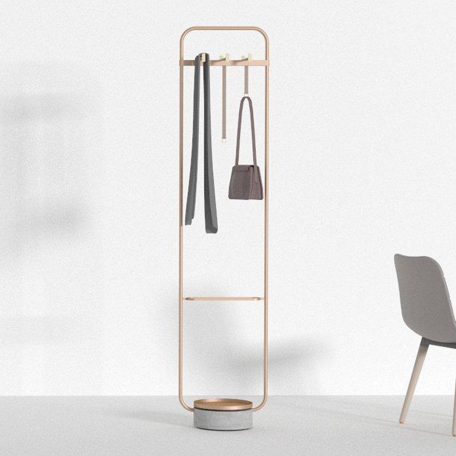 Cloth Stand For Bedroom Decoration neri&hu design rounded rectangle coat stand for offecct | clothes
