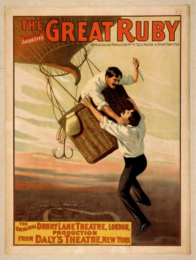 Great Ruby, 1899; Library of Congress   Theatre poster ...