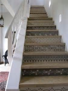 Stencil-Stair-Risers-by Peacock Painters