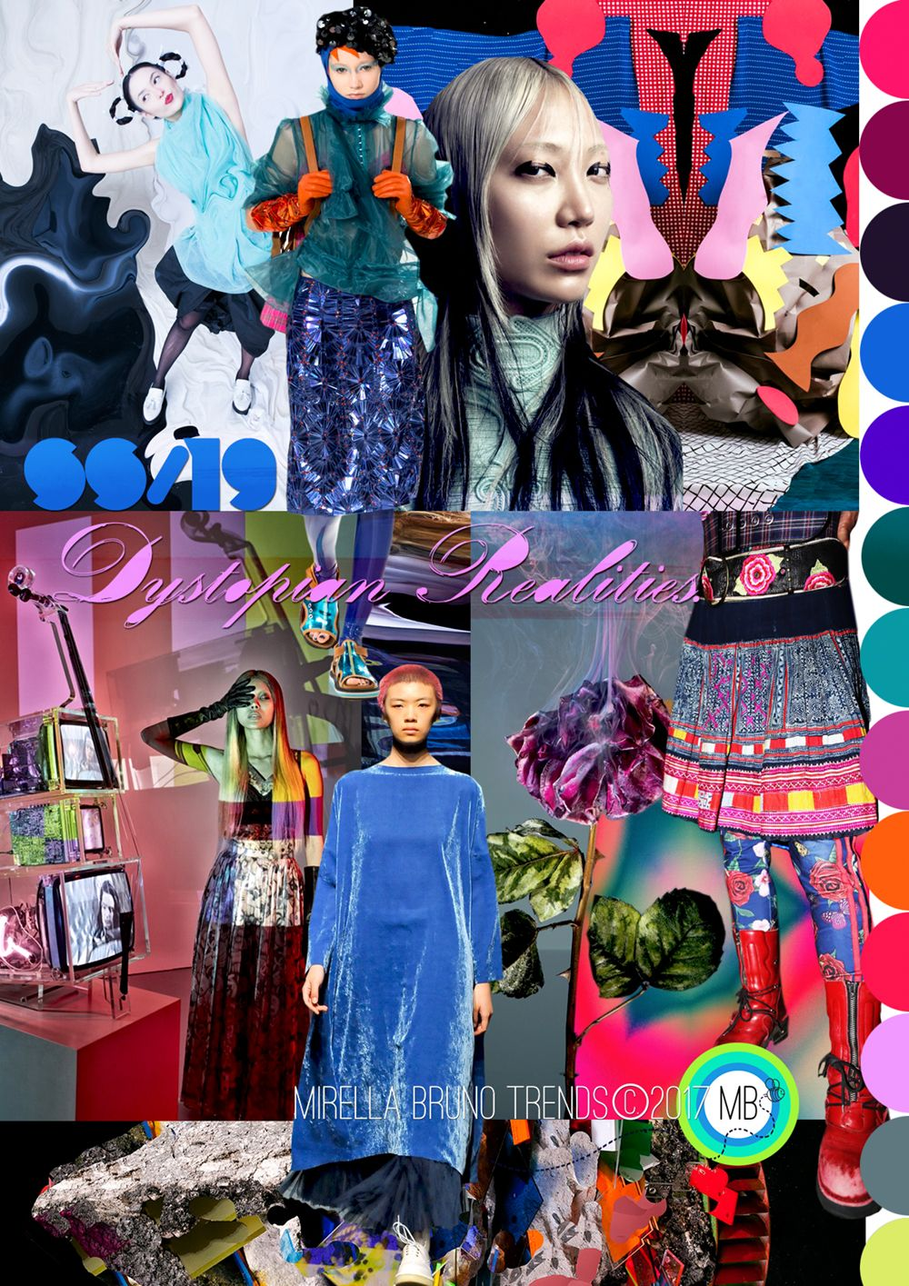 © Mirella Bruno Print Patterns Trends and Designs 1987-2017. I've been working on my Dystopian themed trends for ever it seems. SS/19 Dystopian Realities Heres the first one out of the bag…Lets just see how long it takes before it gets copied by...