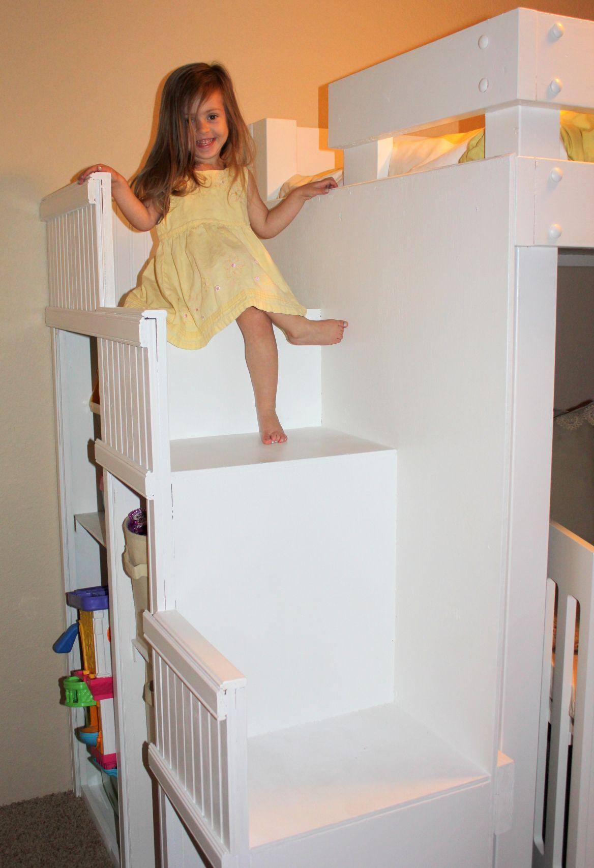 diy bunk beds Diy bunk bed, Bunk beds, Baby girl bedroom
