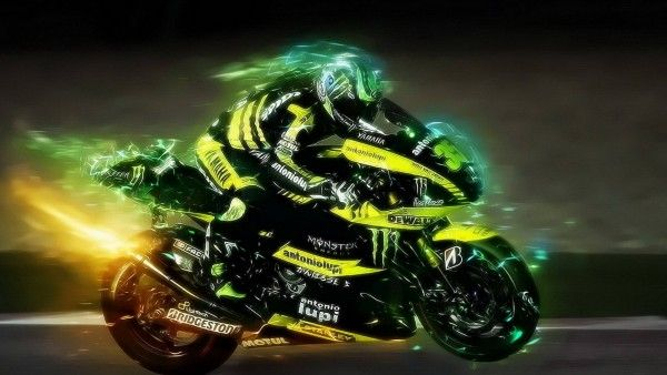 Yamaha Motorcycle Speed Lights Hd Wallpapers With Images
