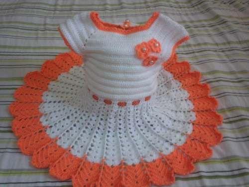 Vestidos tejidos para nina de 6 meses