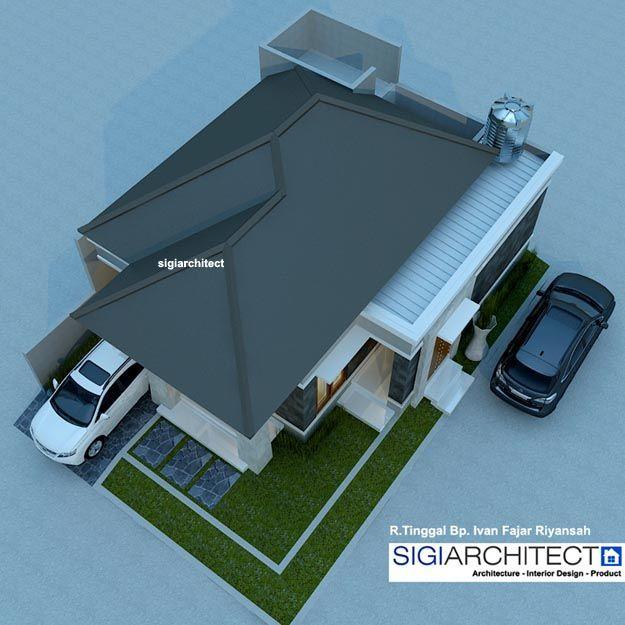 Desain Rumah Type 54 60 Atap Rumah Arsitektur Desain Rumah Rumah