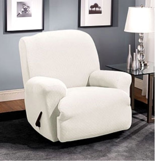 Hmmm Sure Fit Recliner Cover In White For My Favorite