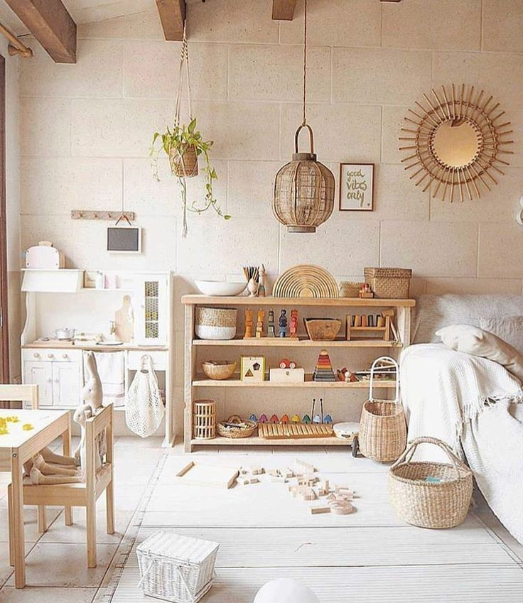 Mid Century Modern Kids Bedroom Ideas: All The Nature In One Kids Room!