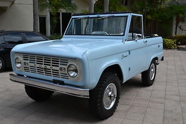 Ford Bronco Electrical System Chart Ford Bronco Classic Bronco