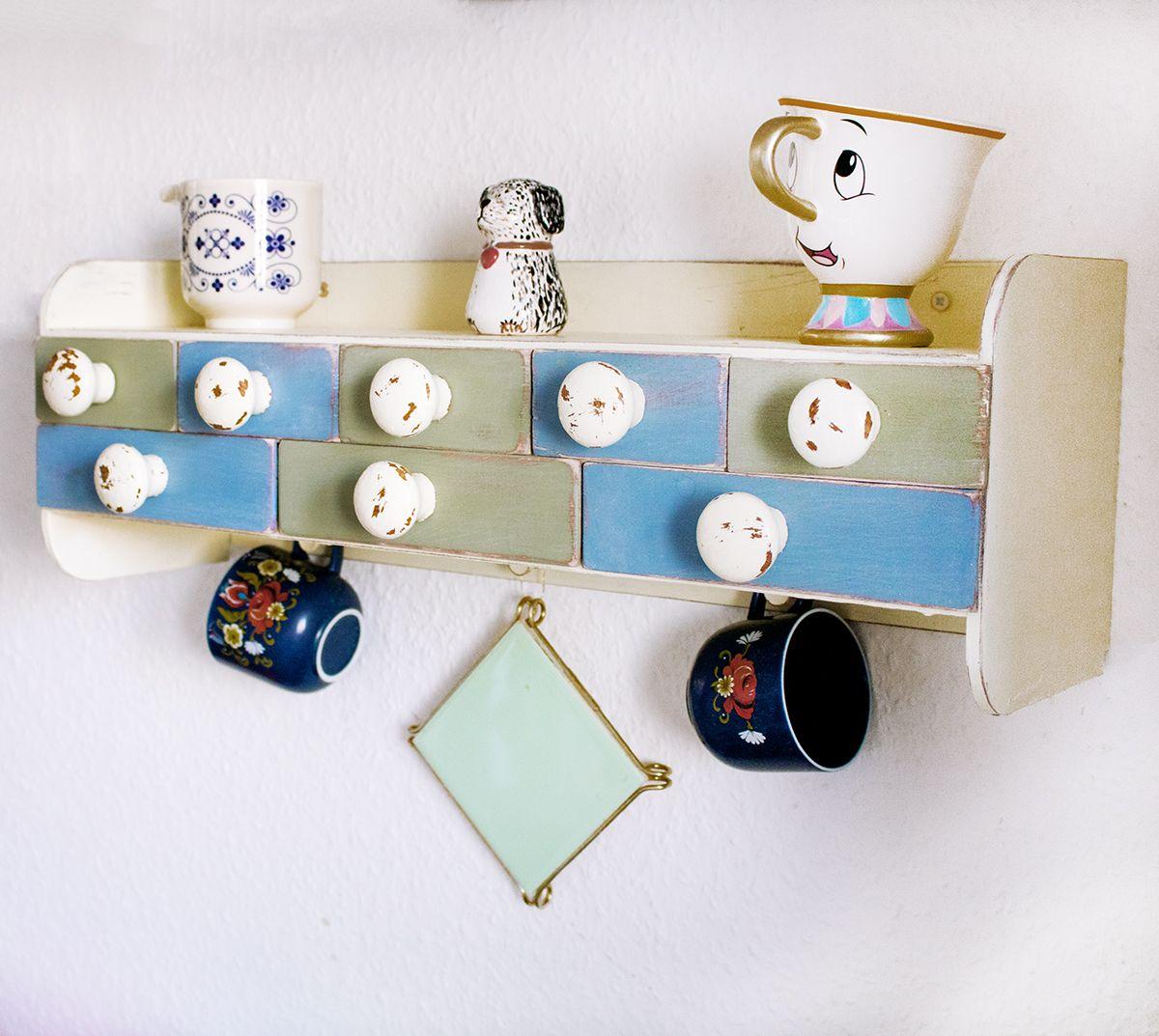 DIY – Küchenregal im Vintage Look › Anleitungen, Do it yourself ...