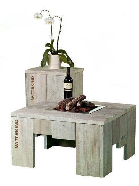 Lounge Tisch mit offenem Feuer » WITTEKIND Loungemöbel   Feuertische ...