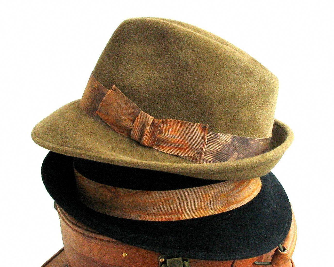 Wool Fedora Trilby Hat- Fall Fashion- Men- Women- Winter Accessories felt fedora  hat trilby hat couture hat millinery wool fedora hat mens hat womens hat ... 5f20afd63a86