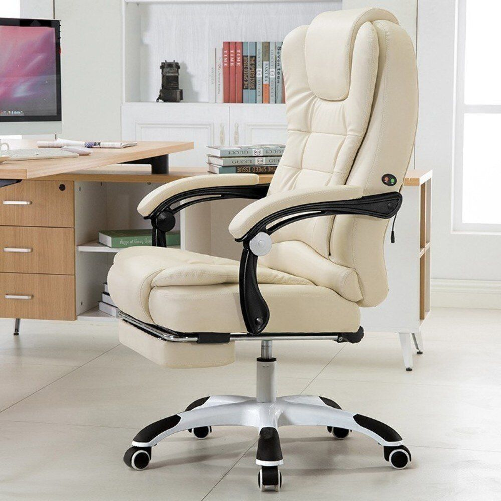 Leather Office Computer Chair Chair Gaming Executive Office Desk Chair Office Gaming Chair Leather Office Furniture Ergonomic Chair Office Gaming Chair