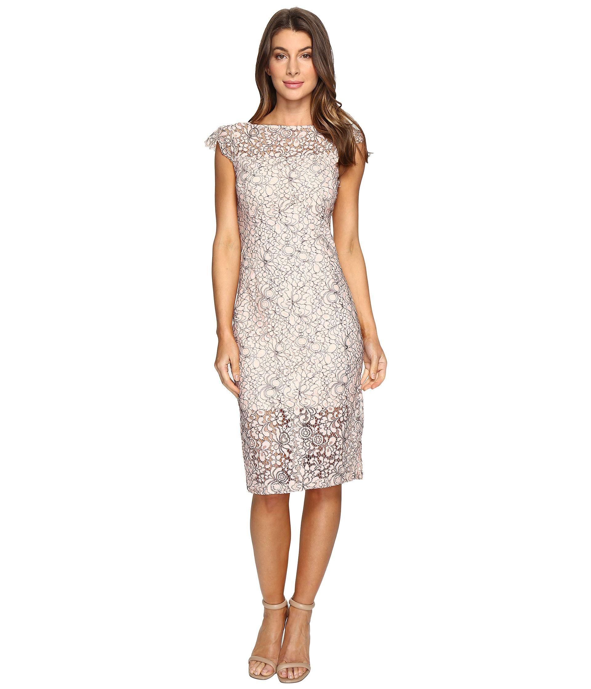Cora Skinner Zappos 2017 Dresses Dress Cover Lace Midi Dress [ 2240 x 1920 Pixel ]