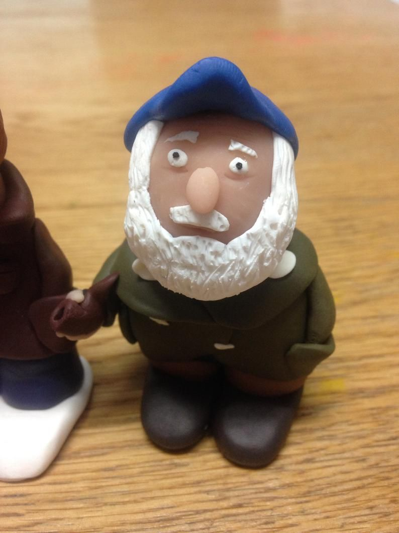 """3 x Only Fools And Horses 2.5/"""" Custom Figurines Figures Christmas Trees"""