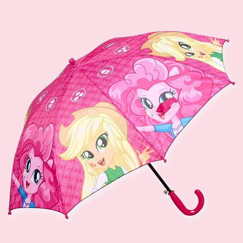 Children's Cartoon Animals Print Umbrella Boys Girls Kindergarten Sun Rain Umbrella Child Umbrella POE Automatic Kids Umbrella