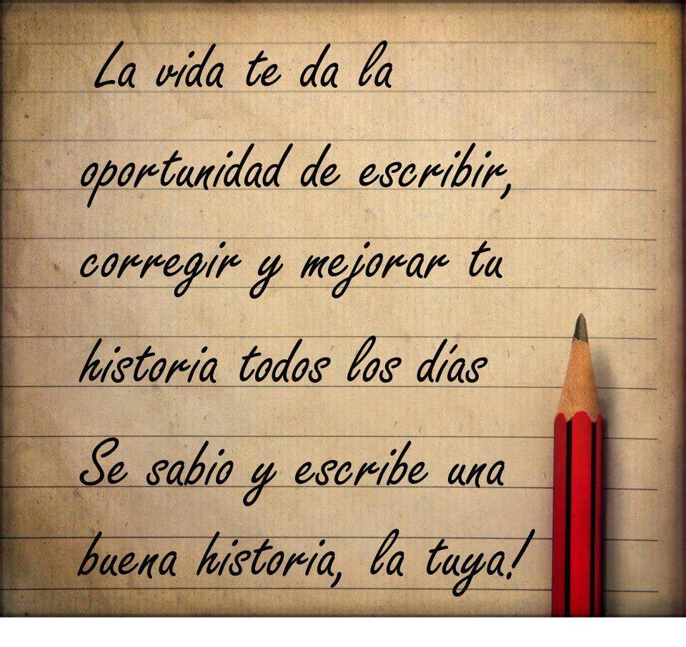 Escribe tu historia