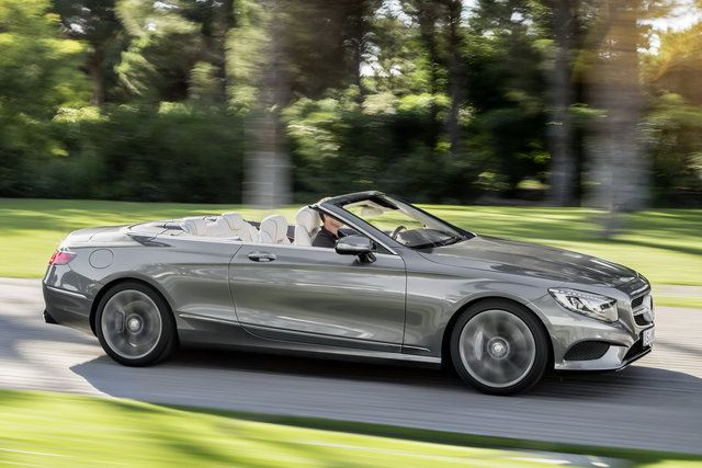 Mercedes S Cabriolet