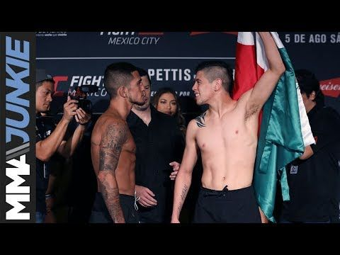 Mma Ufc Fight Night 114 Fighter Face Offs Ufc Fight Night Ufc Fight Night