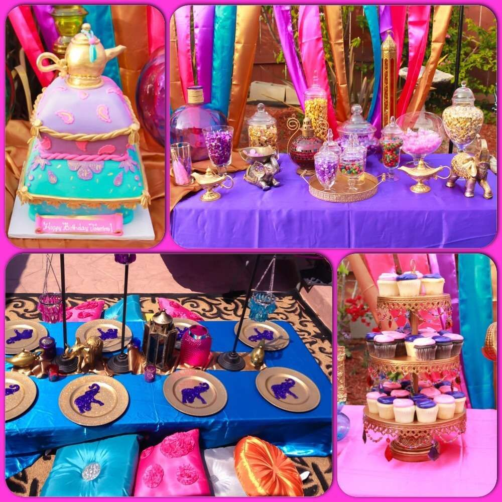 Sweet Details By Karlas Birthday Arabian Aladdin Theme