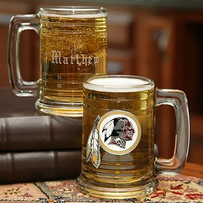 NFL Glass Tankard -  Donation will be made to charity  #Christmas #holiday #gift #idea #charity #charitable #men