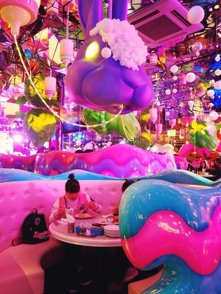 The Crazy Good Kawaii Monster Cafe In Harajuku Tokyo