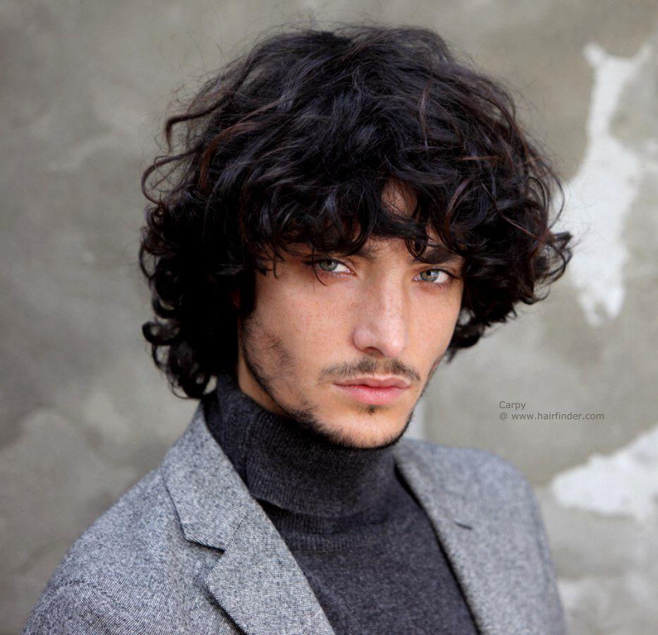 Curly mens haircuts men hairstyles long curly  cualquier wea  pinterest  men