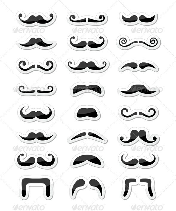 Admirable 1000 Images About Mustaches On Pinterest Short Hairstyles Gunalazisus