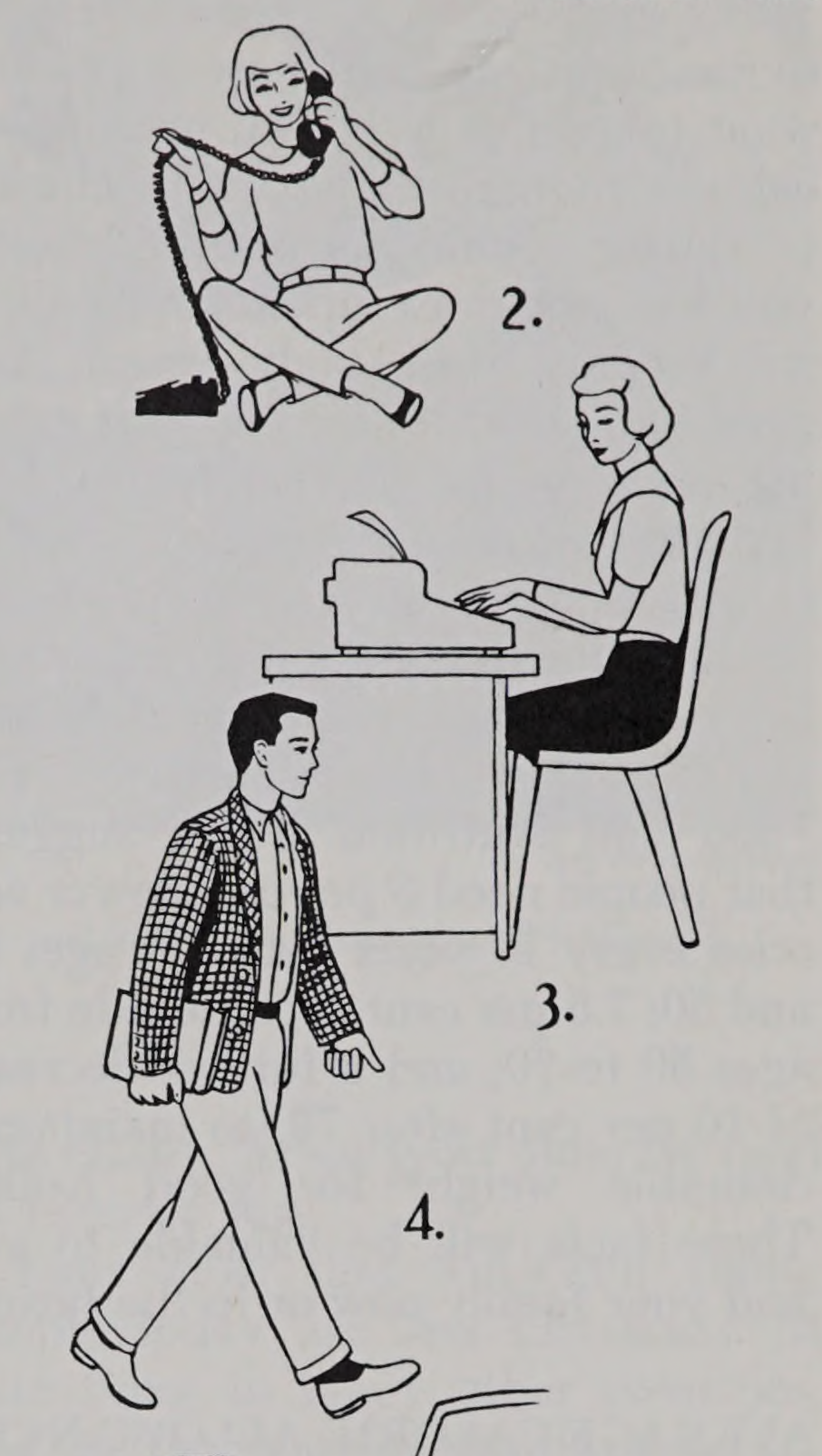"""Caloric output depends on activity.Thresholds to Adult Living. 1962. Internet Archive - #""""Call #196..."""
