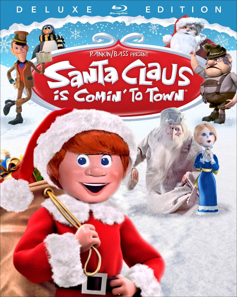 Santa Claus Is Comin To Town Blu Ray 1970 Best Buy Classic Christmas Movies Santa Claus Is Coming To Town Christmas Cartoon Movies