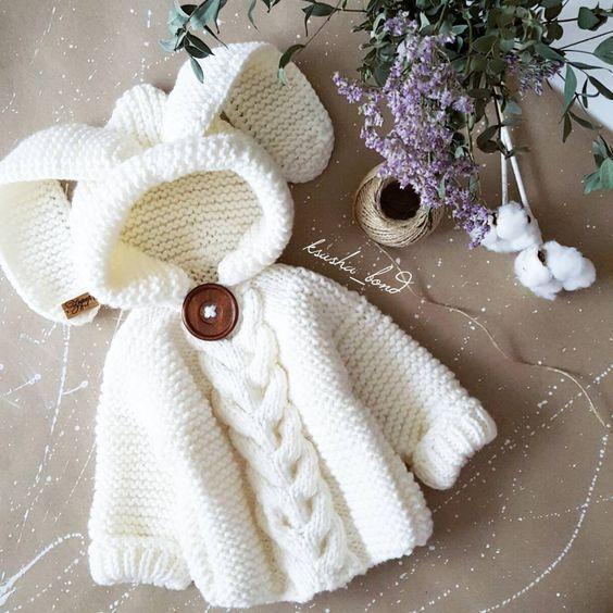 Verkauft weißes Schnee-Langohr-Wunder für ... #vestidosparabebédeganchillo
