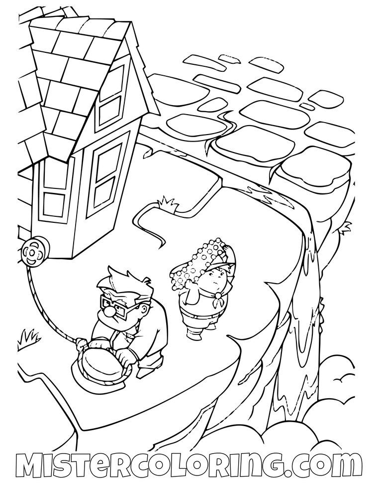 Up Coloring Pages For Kids Mister Coloring Coloring Pages Cute Coloring Pages Coloring Pages For Kids