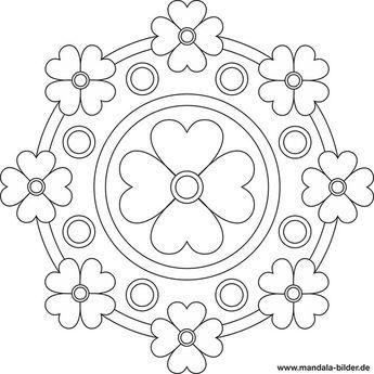 mandala mit blumen | mandala vorlagen, mandala malvorlagen