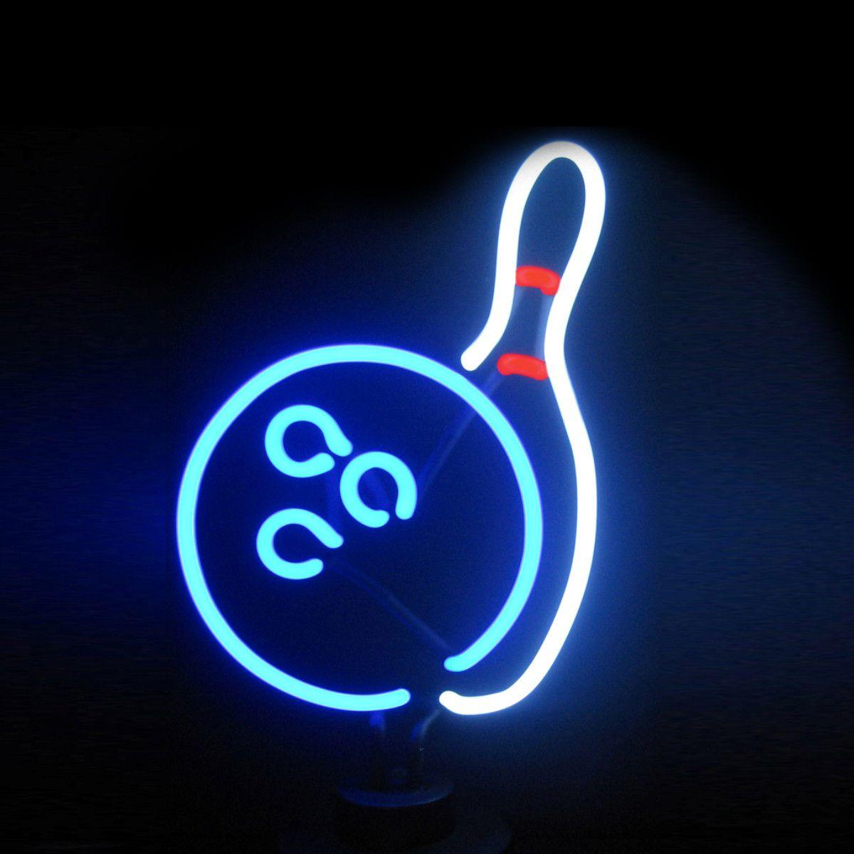Bowling Neon Sculpture Neon Lighting Neon Signs Neon