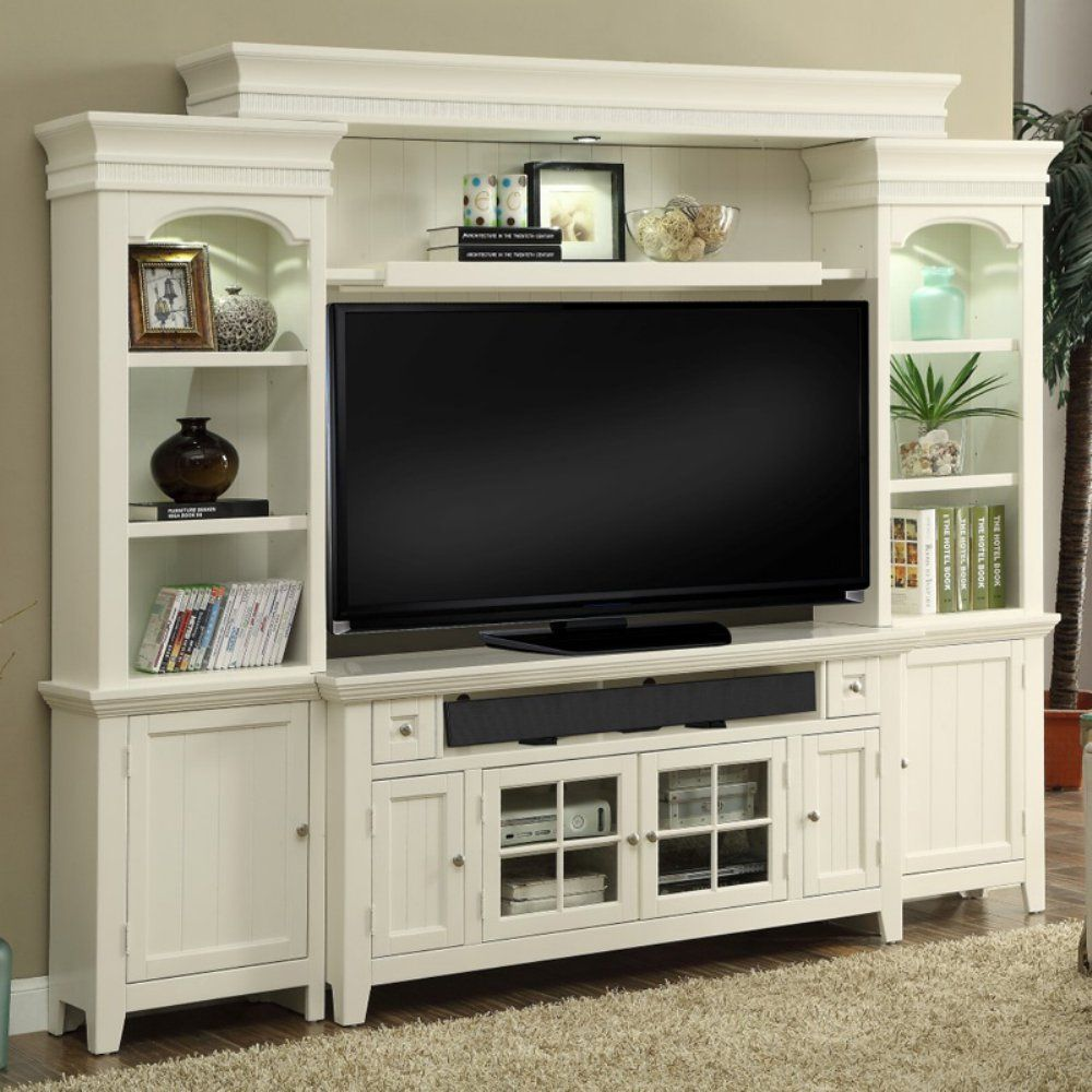 cool black and white tv wall units modular furniture small living room | Take your living room in a coastal direction with this ...