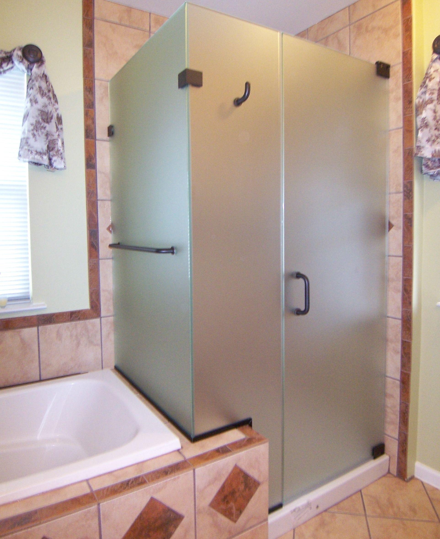 Door Panel Return Shower Door King Shower Door Installations with regard to sizing 1925 X 2358